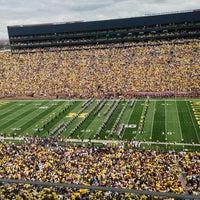 Photo taken at Michigan Stadium by Loren S. on 8/31/2013