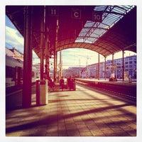 Photo taken at Bahnhof Olten by Patrick R. on 9/21/2012