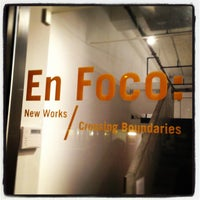 Photo taken at BRIC gallery by En Foco I. on 1/10/2013