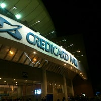 Photo taken at Citibank Hall by Carlos Henrique T. on 5/4/2013