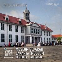 Photo taken at Museum Sejarah Jakarta (Museum Fatahillah) by Eshape B. on 1/14/2014