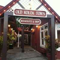 Photo taken at Old Koloa Town by Rolando R. on 8/10/2014