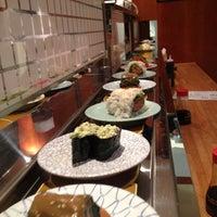 Photo taken at Kulu Kulu Sushi by Paolo B. on 2/1/2013