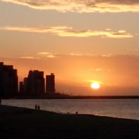 Photo taken at Avenida Beira Mar by Paula Cibele F. on 5/27/2013