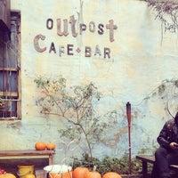 Photo taken at Outpost Café and Bar by kenyatta c. on 11/3/2013