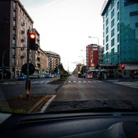 Photo taken at Metro Turro (M1) by Gabriele T. on 4/19/2016