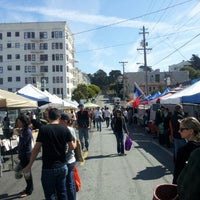 Photo taken at Divisadero Farmers' Market by Michael S. on 9/16/2012