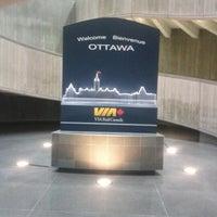 Photo taken at VIA Rail Ottawa by David B. on 11/28/2012