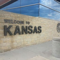 Photo taken at Kansas Travel Information Center by Danielle T. on 7/1/2014
