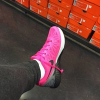 Photo taken at Nike Factory Store by Krissy L. on 12/6/2015