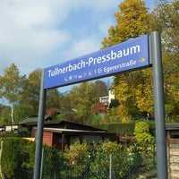 Photo taken at Bahnhof Tullnerbach-Pressbaum by Maximilian K. on 10/28/2015