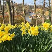 Photo taken at Peasholm Park by Mark S. on 4/3/2016