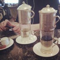 Photo taken at Brasserie du Parc by Saskia V. on 9/23/2012