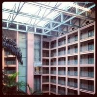 Photo taken at Sheraton Suites Fort Lauderdale At Cypress Creek by Deepak S. on 2/14/2013