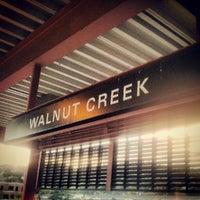 Photo taken at Walnut Creek BART Station by Mark M. on 10/13/2012
