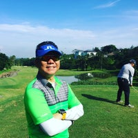 Photo taken at Sentul Highlands Golf Club by Charlie R. J. on 1/14/2016