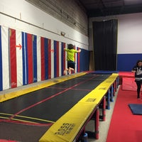 Photo taken at Kingdom Gymnastics by Erica P. on 2/19/2016