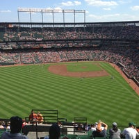 Photo taken at Oriole Park at Camden Yards by Amanda U. on 6/15/2013