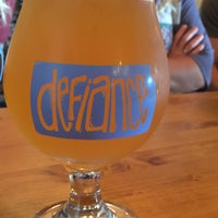Photo taken at Defiance Brewing Co. by Jordan S. on 9/5/2015
