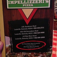 Photo taken at Impellizzeri's Pizza by Ginger L. on 8/12/2013