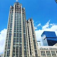 Photo taken at Tribune Tower by Nathan G. on 6/6/2016