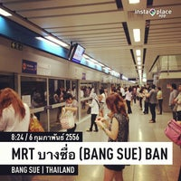 Photo taken at MRT Bang Sue (BAN) by MoOKiA on 2/6/2013