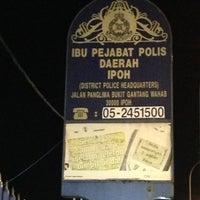 Photo taken at Ibu Pejabat Polis Kontinjen Perak by Saifuddin Z. on 6/30/2013