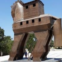 Photo taken at Truva (Troia) Milli Parkı by Nurcan S. on 7/7/2013
