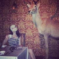 Photo taken at The McKittrick Hotel by Amy C. on 6/16/2013