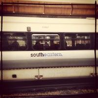 Photo taken at Platform 4 by Serena R. on 10/10/2012