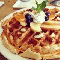 Photo taken at Guerilla Cafe by Katy S. on 3/3/2013