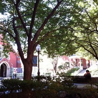 Photo taken at Maguire Hall, Georgetown University by 🤖🐵 Andrew S. on 9/23/2012