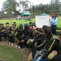 Photo taken at Al Limite Paintball by Luz N. on 12/12/2015