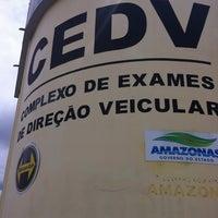 Photo taken at Complexo de Treinamento de Direção Veicular  - DETRAN/AM by Graco S. on 12/20/2012