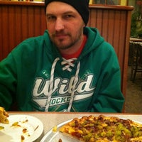 Photo taken at John's Pizza Cafe, Ltd. by Marni O. on 3/5/2013
