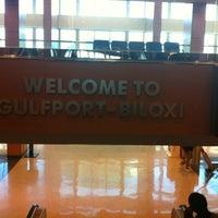 Photo taken at Gulfport-Biloxi International Airport (GPT) by cecil w. on 11/20/2012