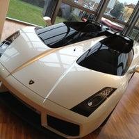Photo taken at Automobili Lamborghini S.p.A. by Den P. on 12/4/2012