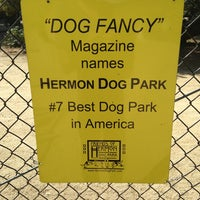 Photo taken at Hermon Dog Park by Jo3shua on 6/5/2013