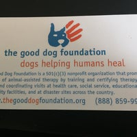 Photo taken at The Good Dog Foundation by Nicole G. on 9/30/2016