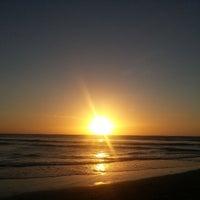 Photo taken at Praia de Jericoacoara by Sergio S. on 4/12/2013
