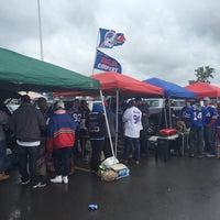 Photo taken at Lot 5 Ralph Wilson Stadium by Nicholas T. on 9/13/2015