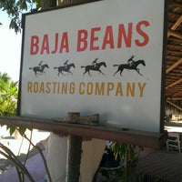 Photo taken at Baja Beans Roasting Company by Ward D. on 3/17/2013