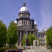 Photo taken at Illinois State Capitol by Yvette N. on 5/8/2013
