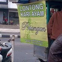 Photo taken at Lontong Kari Ayam Priangan by Paul on 1/19/2014