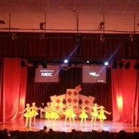Photo taken at Teatro Municipal de San Lorenzo by Cecilia P. on 12/9/2012