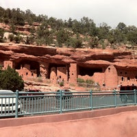 Photo taken at Manitou Cliff Dwellings by Murat T. on 6/17/2013