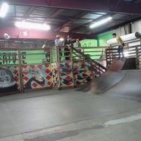 Photo taken at Skatepark Of Tampa by Amanda T. on 3/9/2013