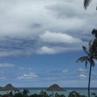Photo taken at Lanikai Loop by Sylvia D. on 5/10/2016