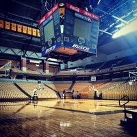Photo taken at Mizzou Arena by Ashley C. on 10/1/2013