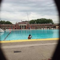 Photo taken at Highbridge Park Pool by Neith R. on 7/13/2016